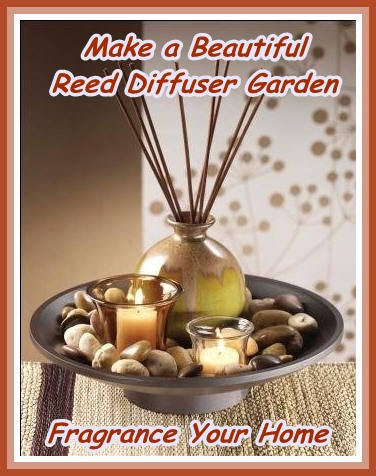 easy to make reed diffuser garden